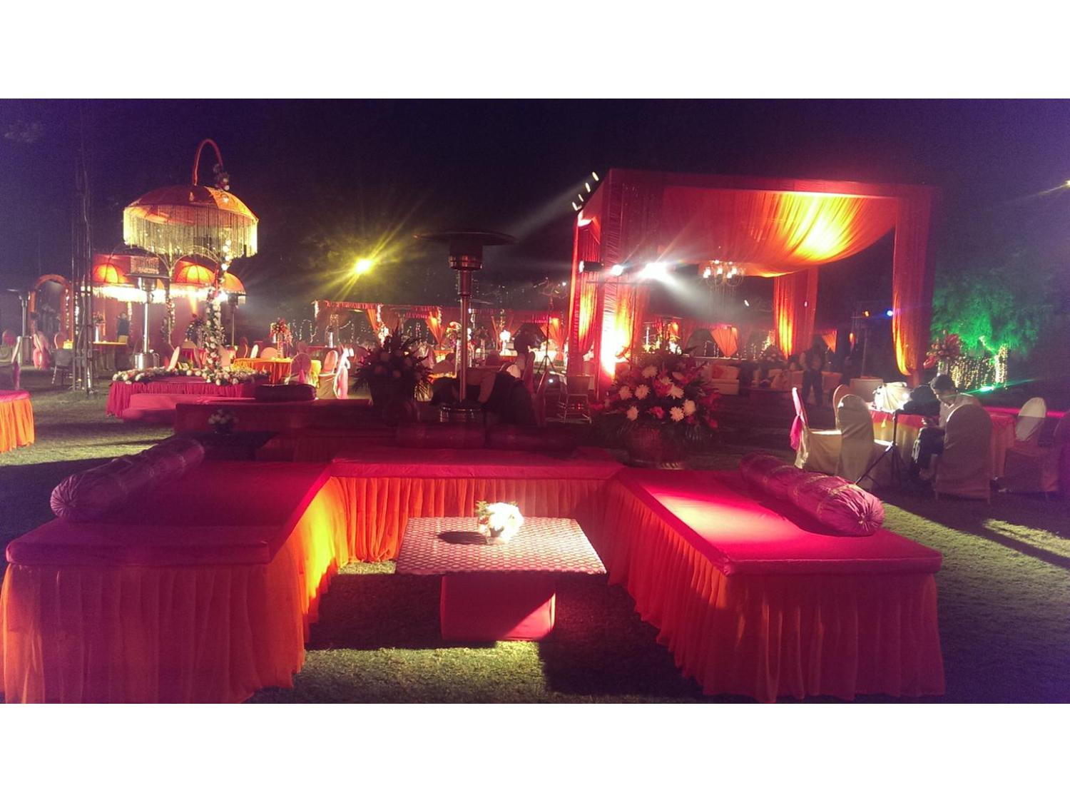 Golden tulip chattarpur wedding and reception event