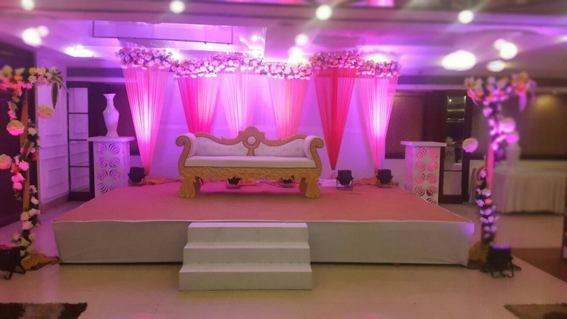 Lagoona emerald saket delhi wedding