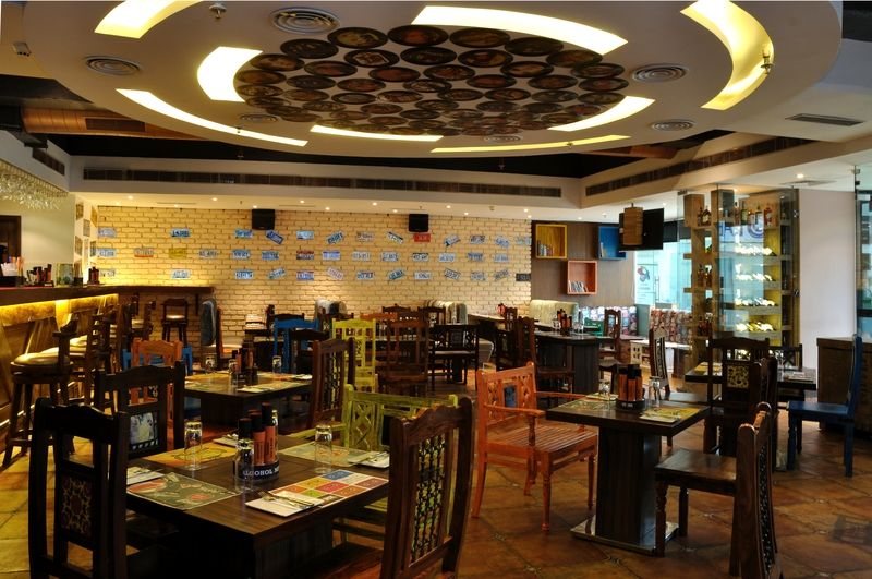 Uforia gurgaon dining