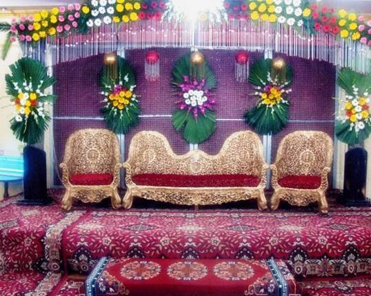Ganga banquet ghaziabad wedding stage