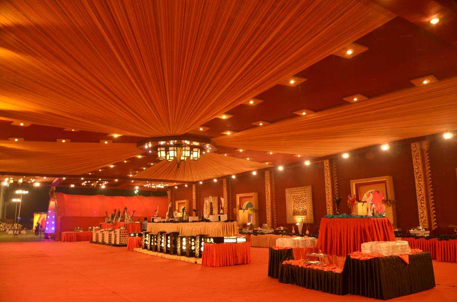 Valentine resorts and motel alipur banquet hall