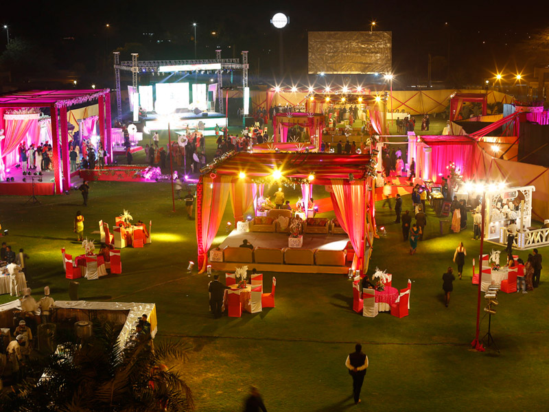 The jehan nirra urja wedding lawn