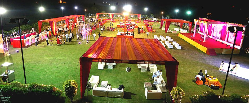 Vsk garden greater noida wedding lawn